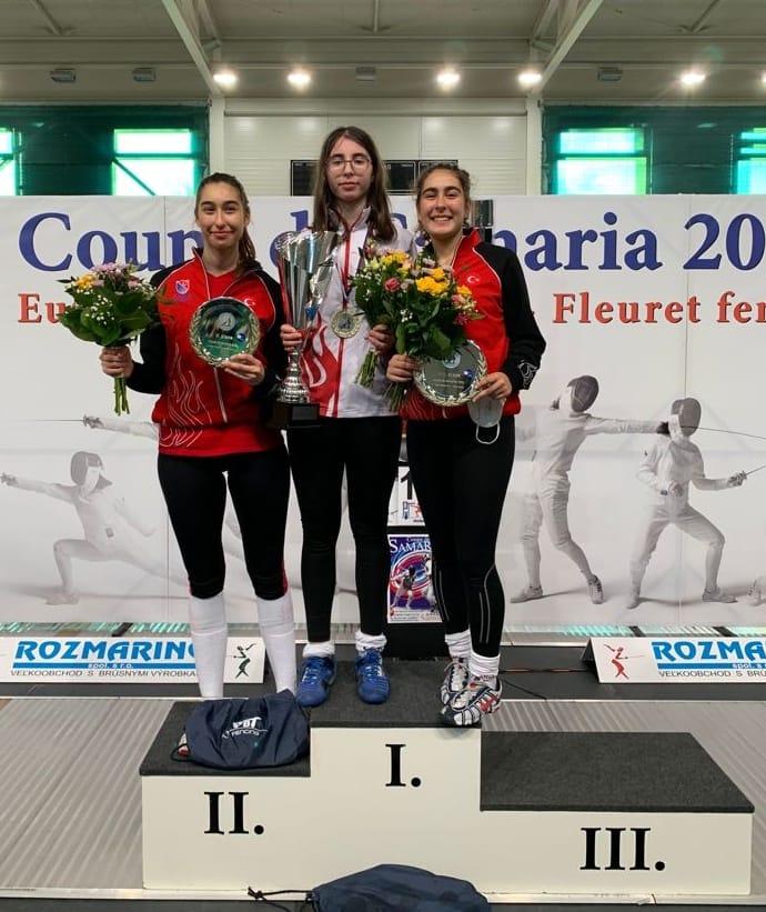Alisa İşbir Samorin'de Şampiyon