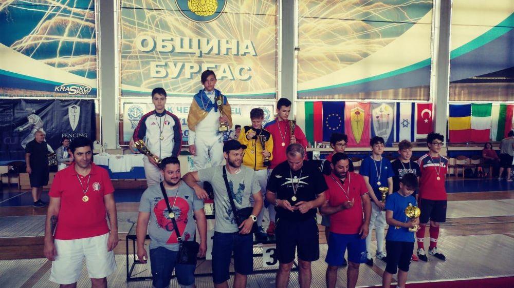 Burgas Cup'tan kupalarla döndüler