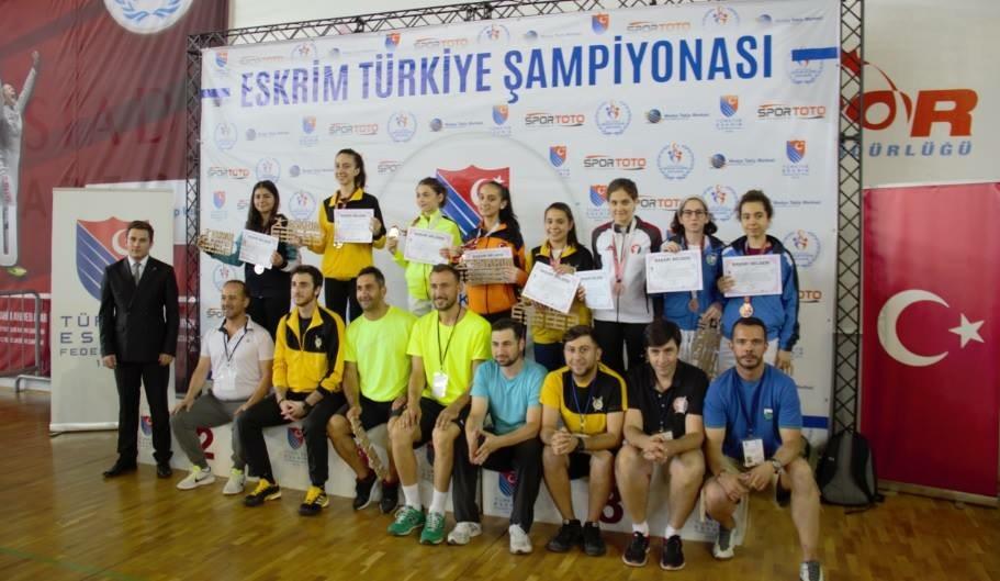 Trabzon'da Türkiye Şampiyonası heyecanında ikinci gün geride kaldı