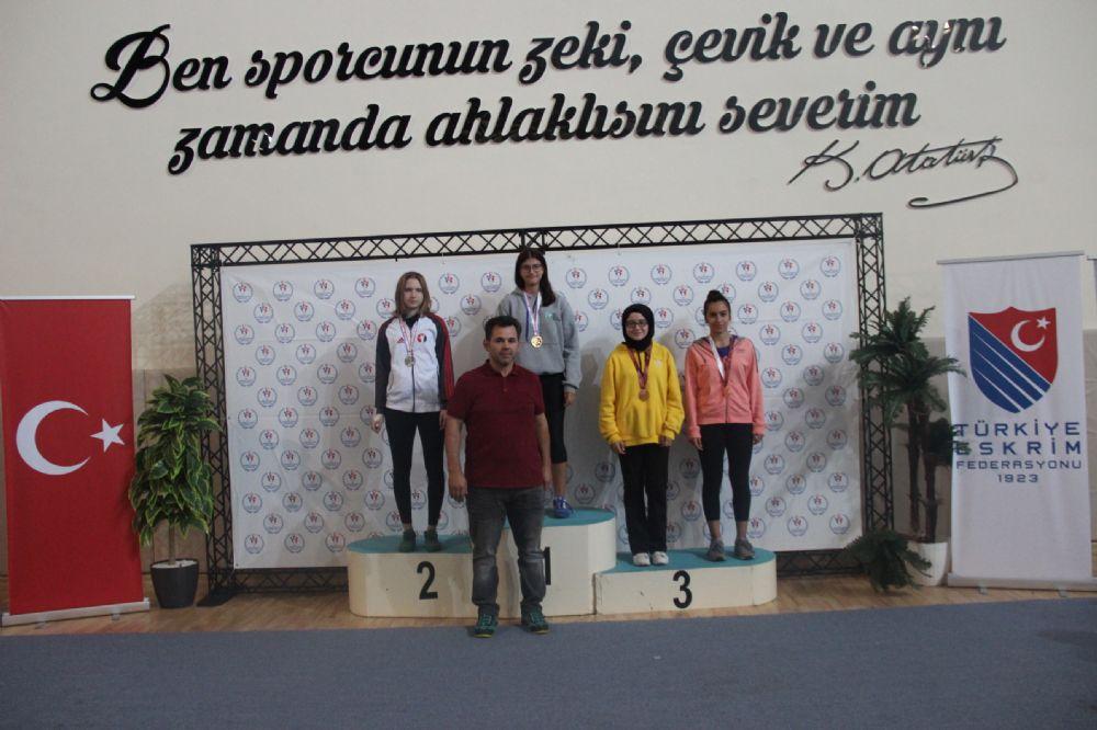 Eskişehir'de düzenlenen açık turnuvalar sona erdi