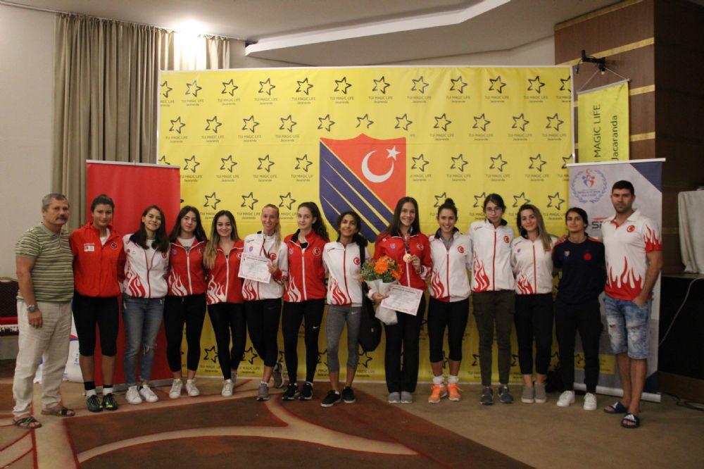 Uluslararası Satellite Turnuvası Antalya'da yapıldı