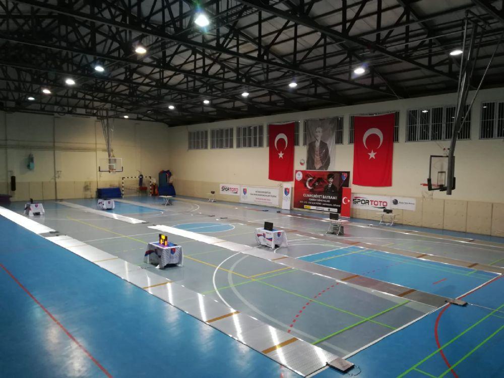 Cumhuriyet Açık Eskrim Turnuvaları Adıyaman ve Alanya'da düzenleniyor