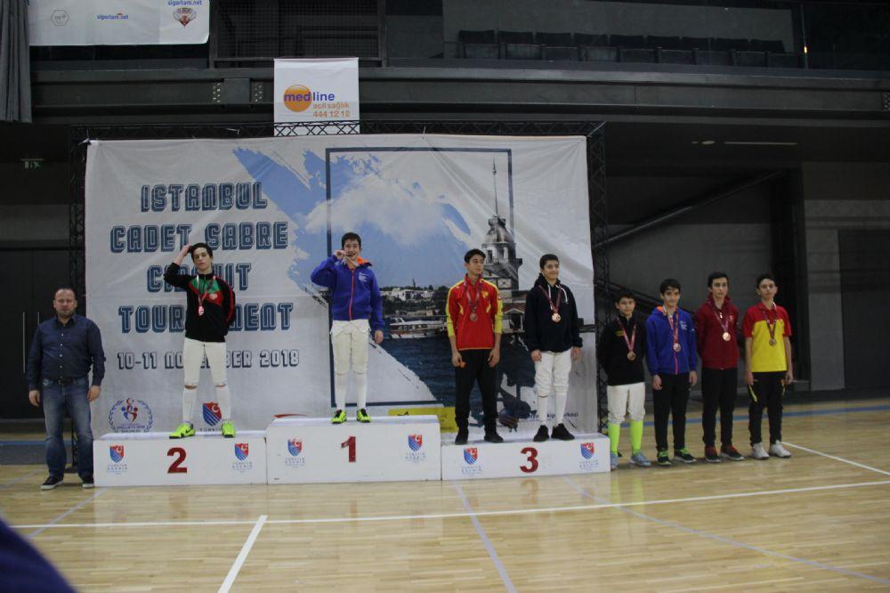 U14 Flöre Açık Turnuvasında Madalyalar Sahiplerini Buldu