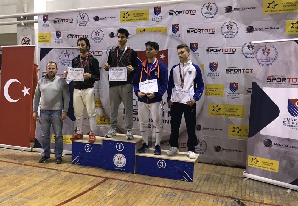 Gençler Flöre Türkiye Şampiyonası sona erdi