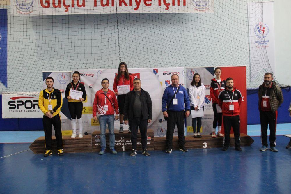 Kastamonu'da düzenlenen Türkiye Şampiyonası sona erdi