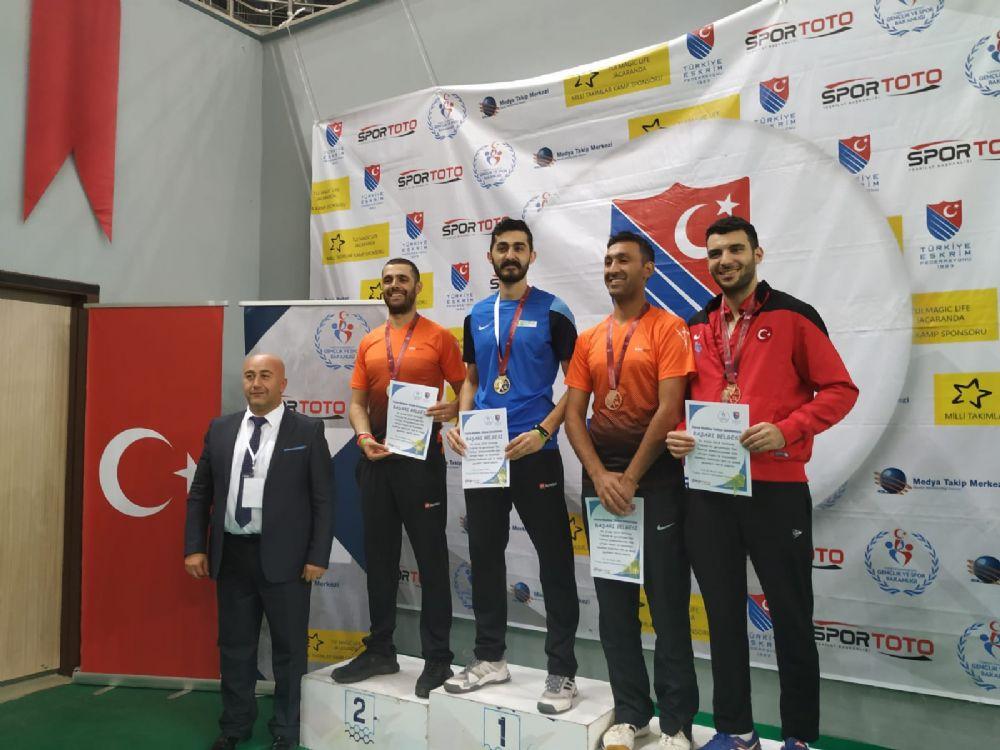 Trabzon Büyükler Epe Türkiye Şampiyonası ve U10-U12-U14 Epe Açık Turnuvası  İlk Gün Tamamlandı
