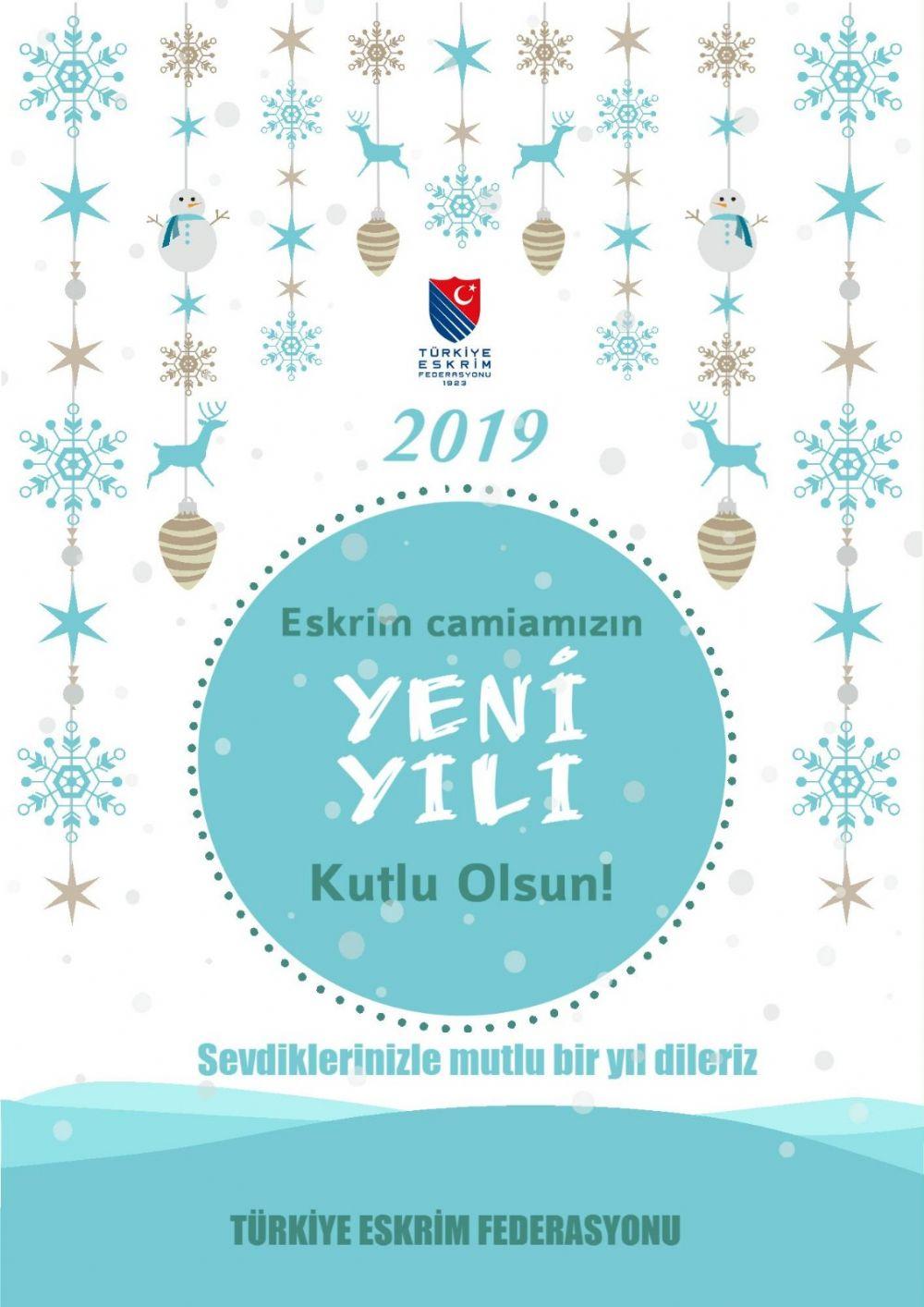 Eskrim Camiamızın Yeni Yılı Kutlu Olsun