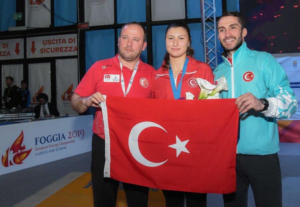 Milli Eskrimcimiz Avrupa Şampiyonu