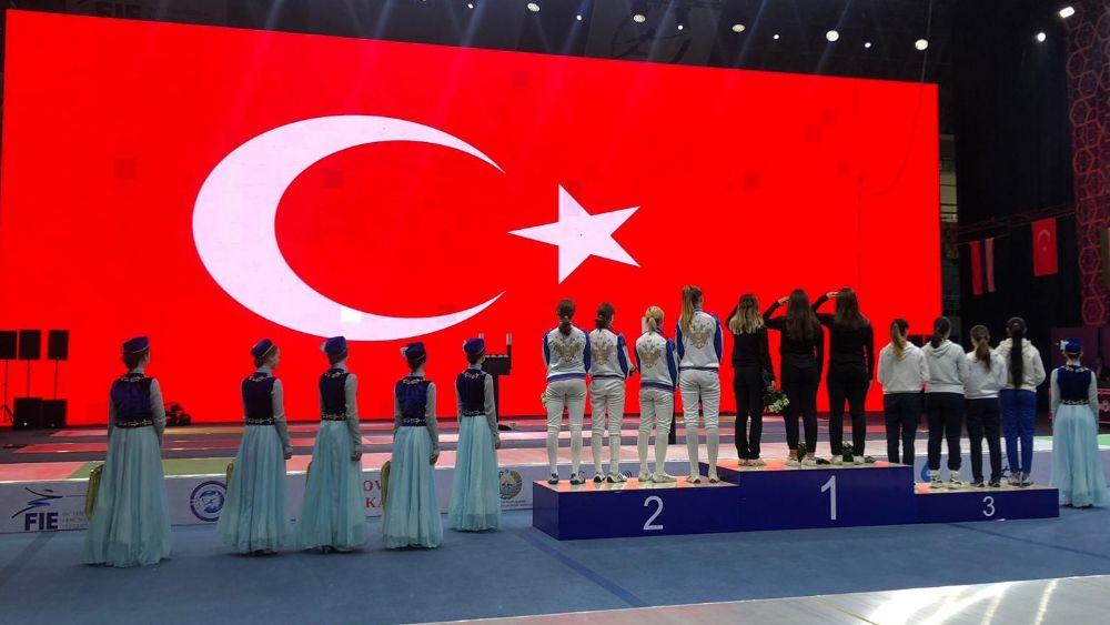 Taşkent'te Şampiyon Türkiye!