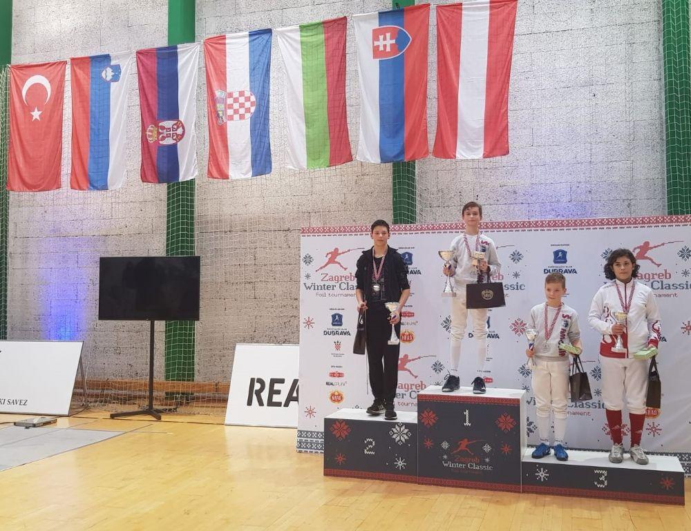 Erin Yalçın Zagreb'de Bronz Madalya Kazandı