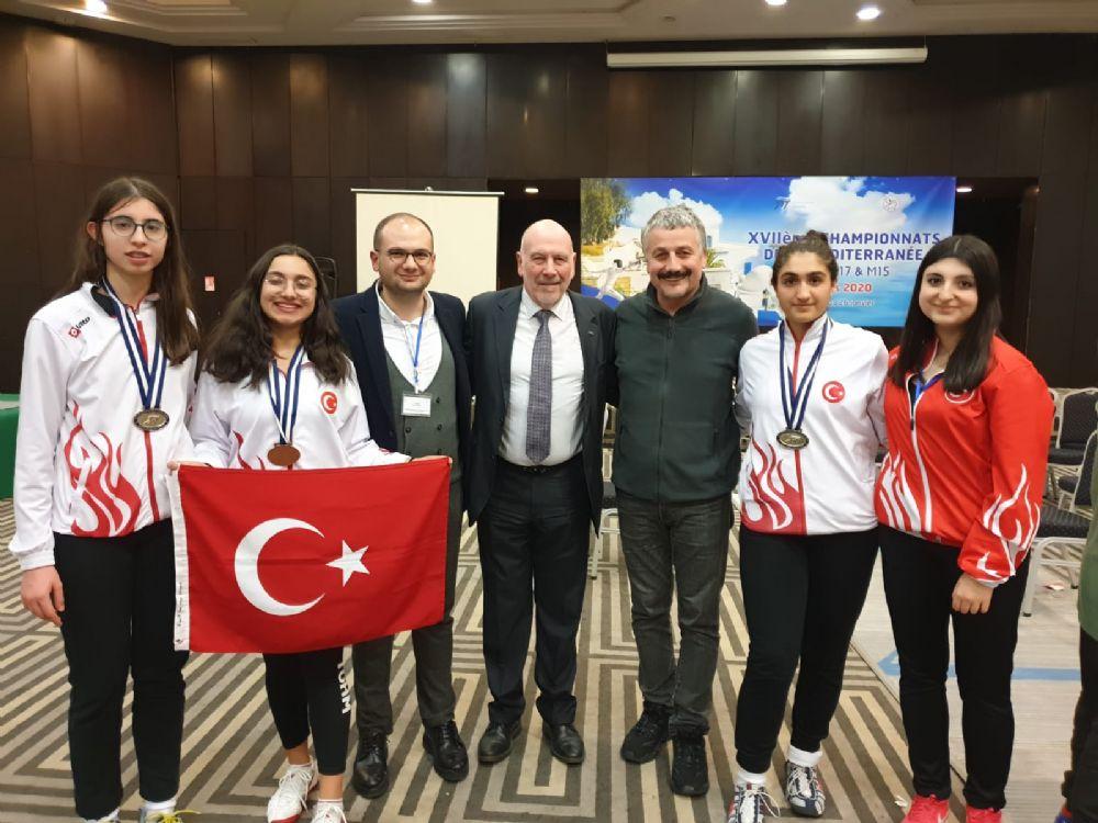 Akdeniz Şampiyonası'nda İlk Gün 2 Altın 1 Bronz