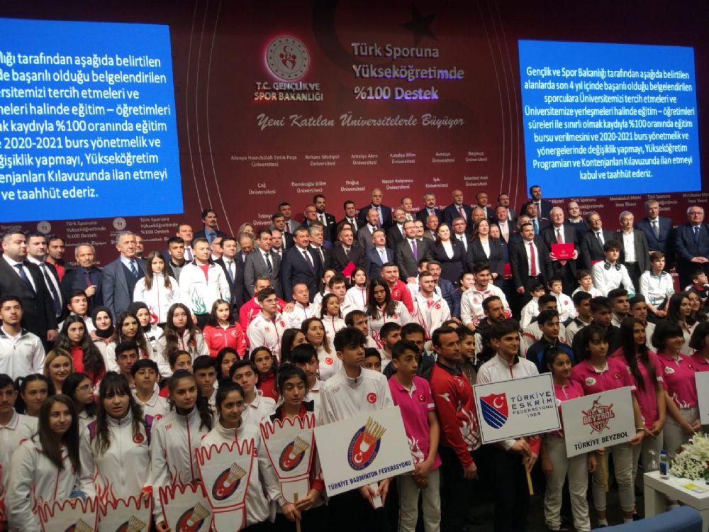 GSB 24 vakıf üniversitesiyle daha protokol imzaladı