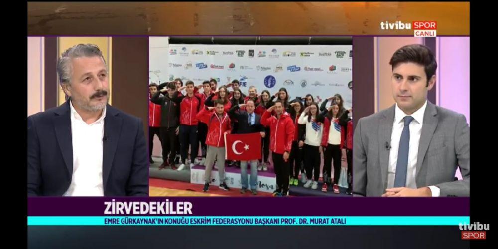 Zirvedekiler Program Konuğu Federasyon Başkanımız Prof. Dr. Murat Atalı