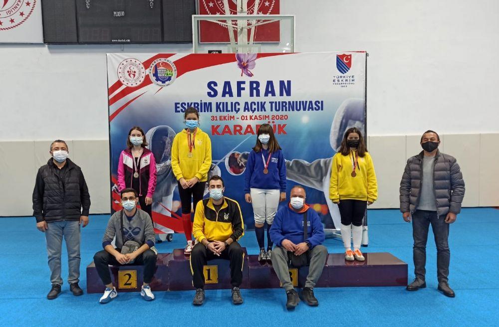 Karabük'te Kılıç Açık Turnuva tamamlandı