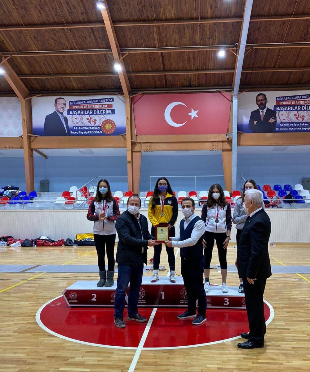 Bursa'da kılıç heyecanı sona erdi