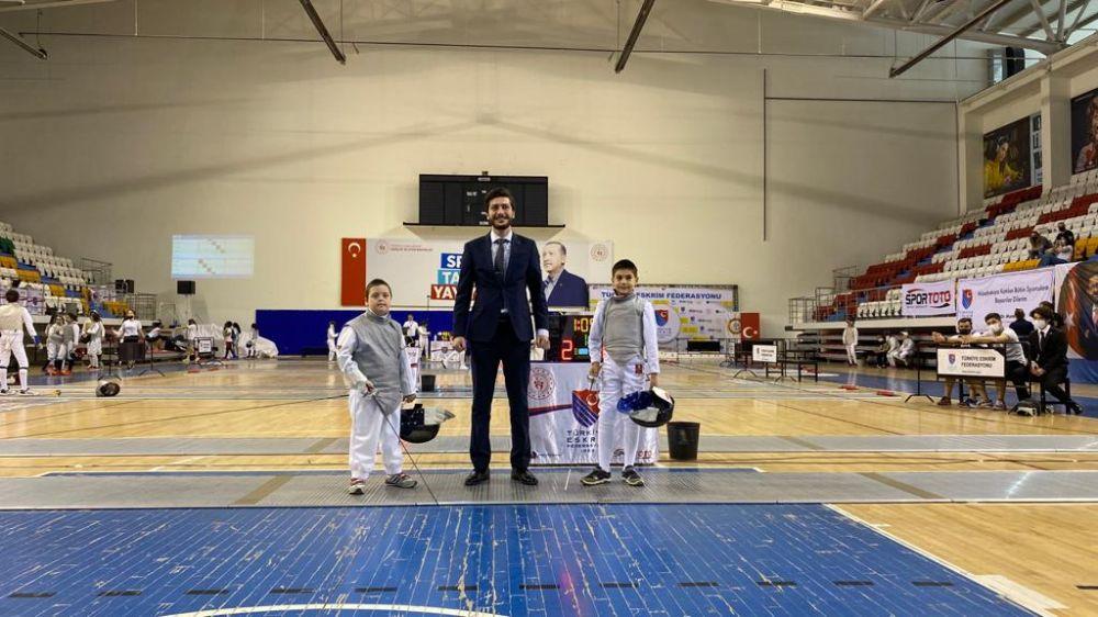 'U12-U14 Eskrim Açık Turnuva' Ankara'da tamamlandı