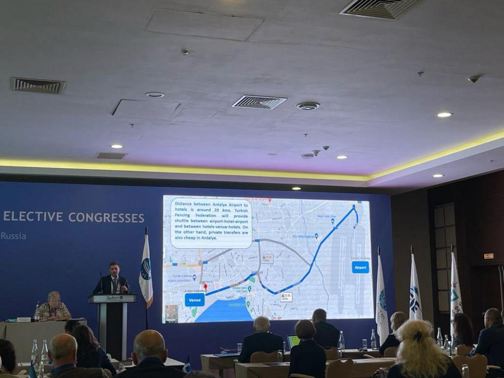 '2022 Eskrim Avrupa Şampiyonası' Antalya'da düzenlenecek